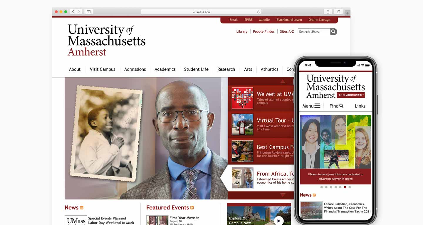 UMASS Gateway Website